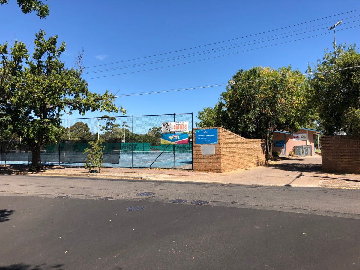 Millswood tennis courts
