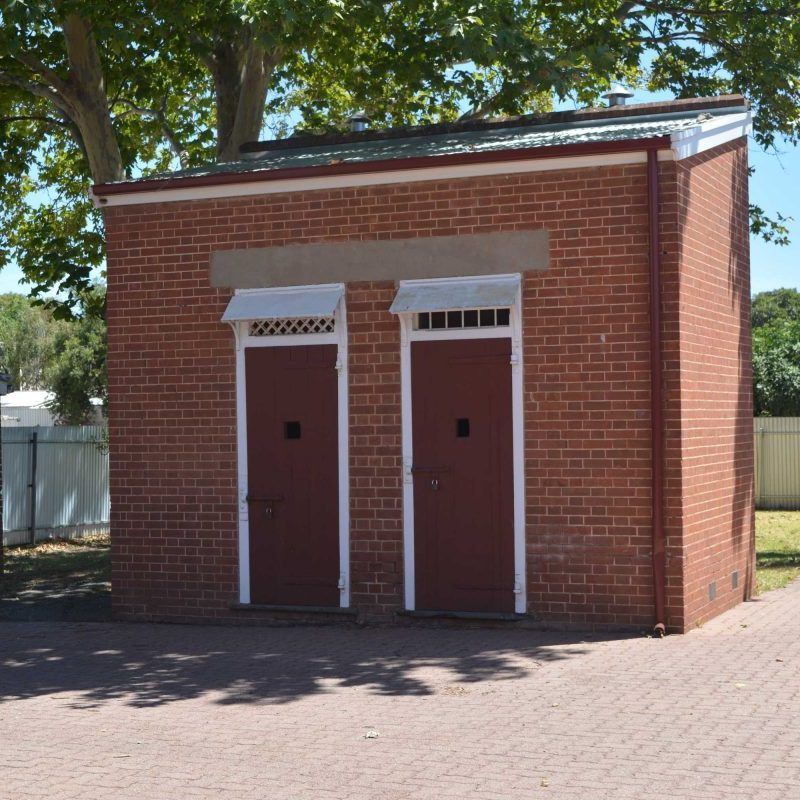 The old Police lock-up