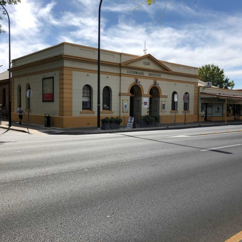 Goodwood Institute dating back to 1887